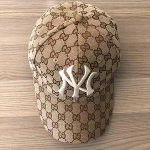 Gucci NY monogram baseball cap